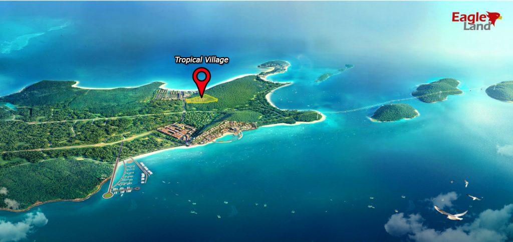 Vị trí dự án Tropical Village