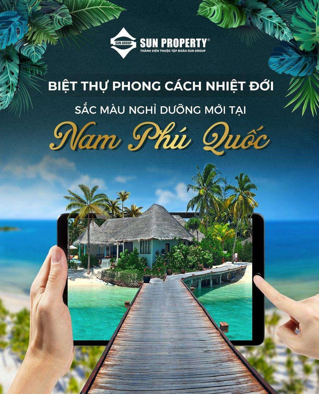 Sun Tropical Village biệt thự phong cách nhiệt đới mới tại bãi Kem