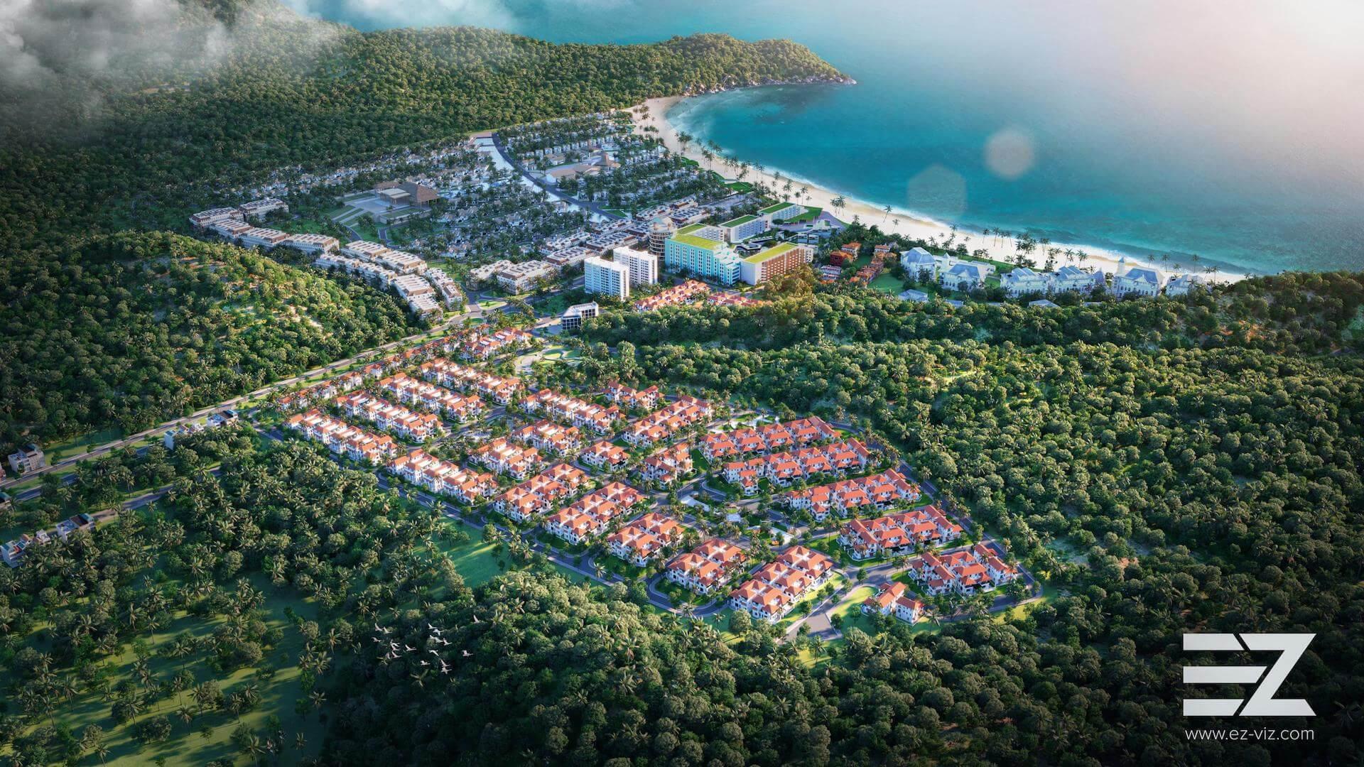 Làng nhiệt đới Sun Tropical Village Phú Quốc