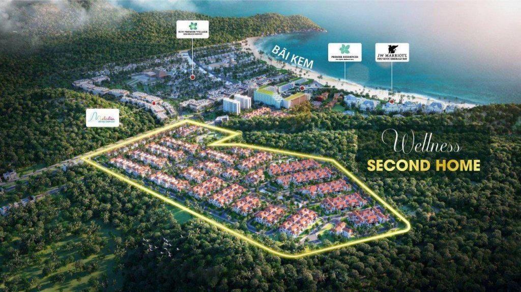 Bất động sản đảo Ngọc ngày một phát triển đã góp phân tô điểm thêm cho bất động sản Phú Quốc thêm sinh động