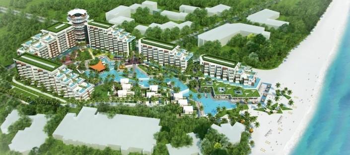 Toàn cảnh Dự án Condotel Resort Phú Quốc