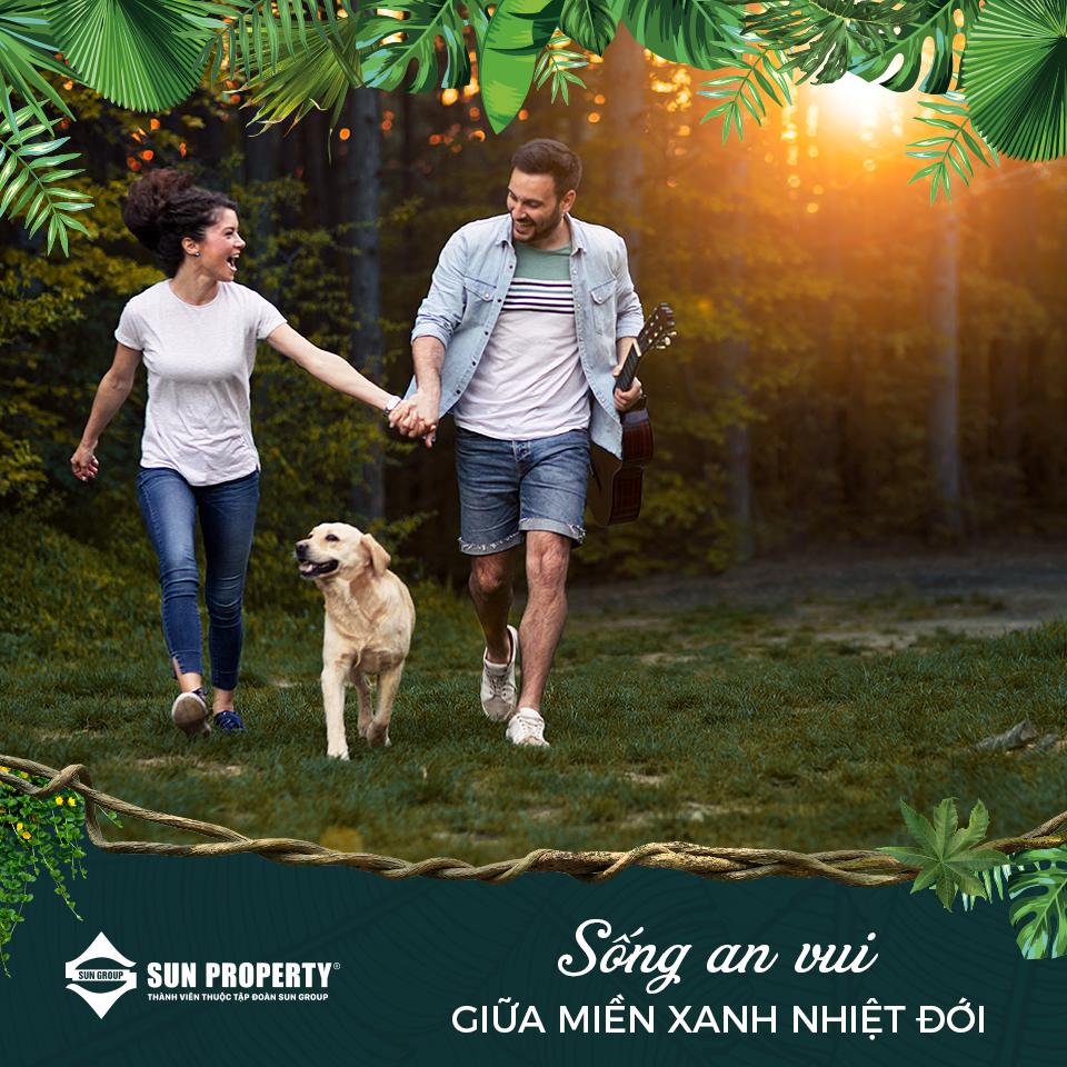 Sống an vui giữa miền xanh nhiệt đới
