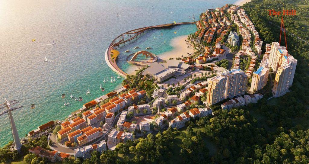 dự án căn hộ view biển Sun Grand City Hillside Residence ở Nam Phú Quốc