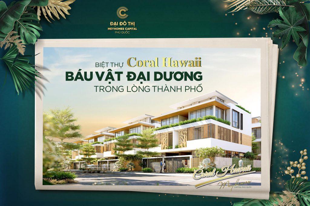 Hình ảnh đầu tiên về dự án biệt thự Meyhomes Capital Phú Quốc