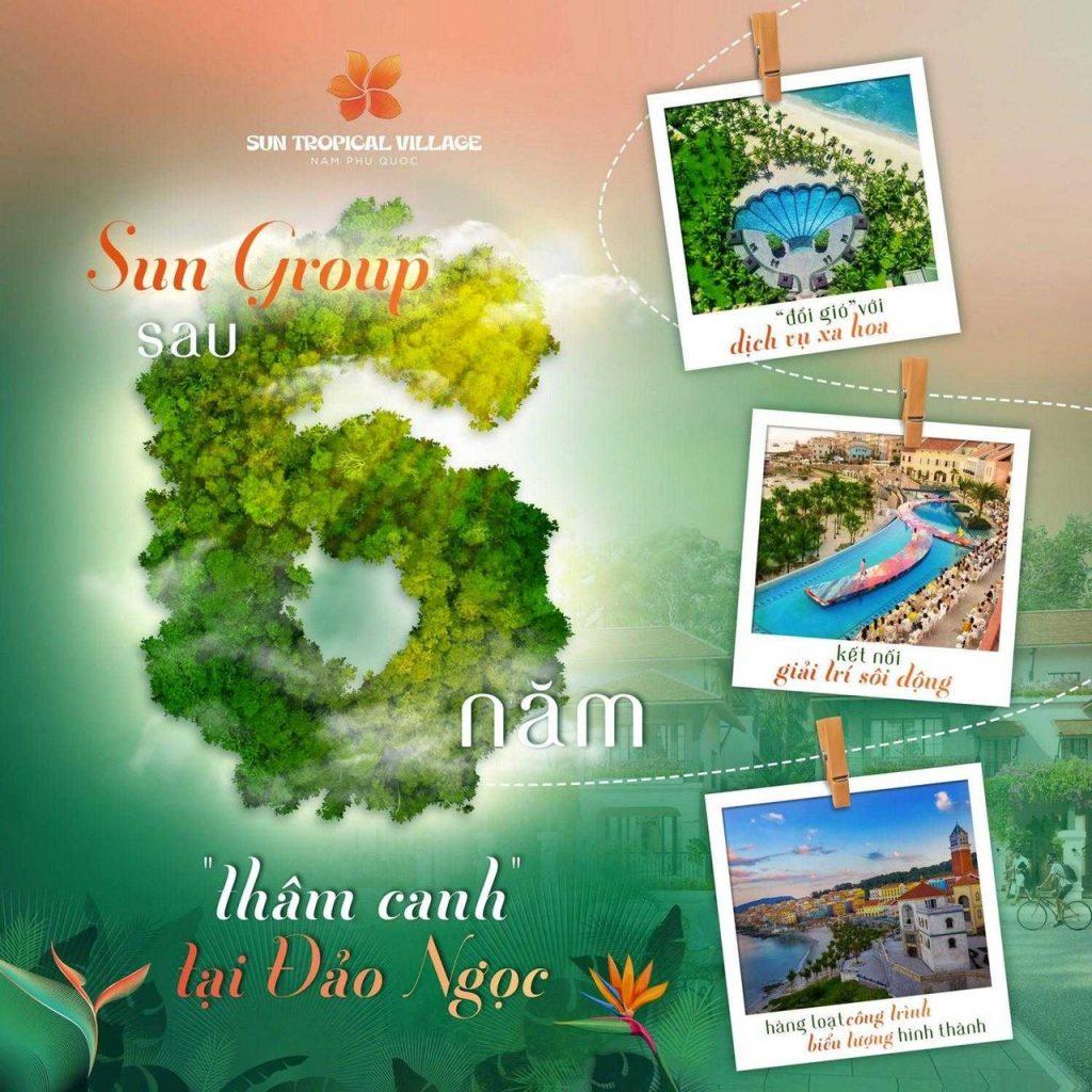 Tận hưởng lối sống wellness đa tiện ích tại dự án làng nhiệt đới Sun Tropical Village Phú Quốc