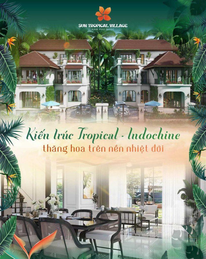 Hình ảnh đầu tiên về dự án Sun Tropical Village Phú Quốc