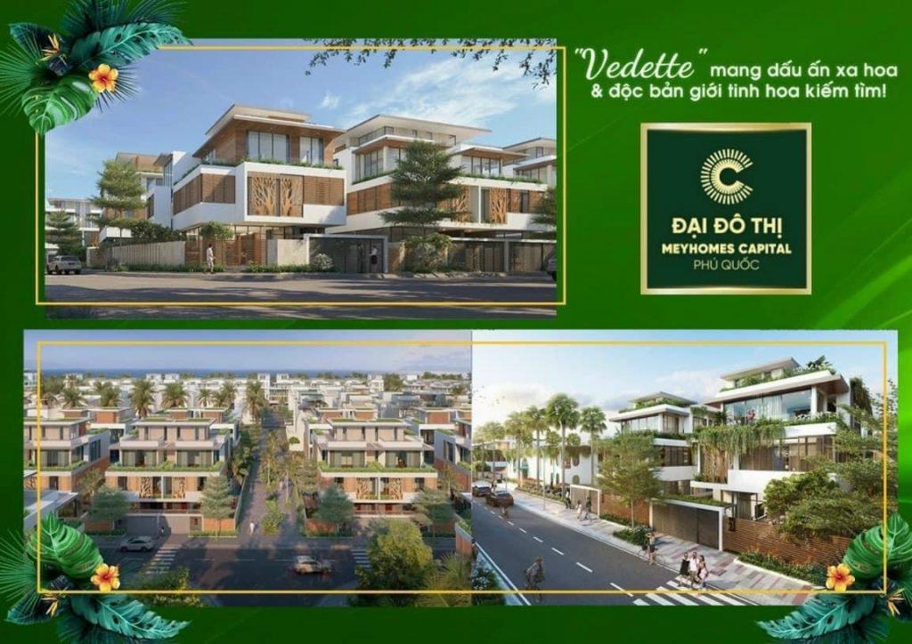 """Phối cảnh biệt thự Coral Hawaii""""chuẩn sống san hô"""" tại dự án Meyhomes Capital Phú Quốc."""